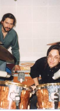 Luis Conte and Jeff Porcaro