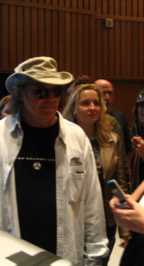 Clair Marlo and Neil Young