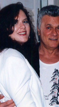 Clair Marlo and Tony Curtis