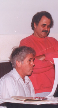 Doug Sax and Lincoln Mayorga