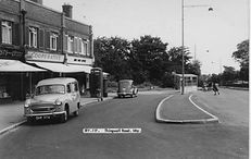 Picture of Irby village in the sixties