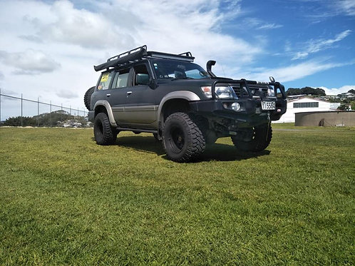 MCC Falcon 707-02 Winch Bar for Nissan Patrol Y61 2005-on