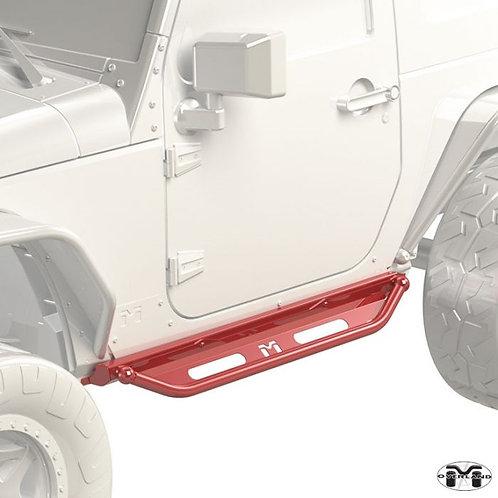 Metalcloak Overland Rocker & Flip Step Kit Jeep Wrangler JK 2-door