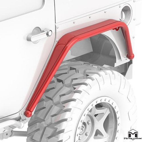Overline Hi-Clearance Dovetailed & Removable Rear Flare, Narrow Edition, Pair, J