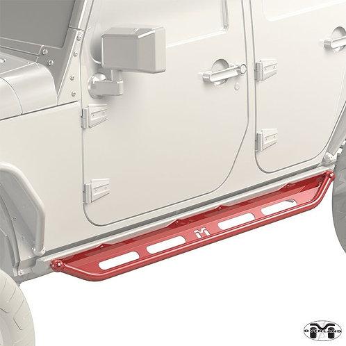 Metalcloak Overland Flip Step Jepp Wrangler JK/JL 4-Door