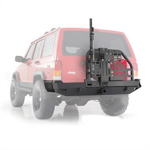 XRC Rear Tire Carrier Bumper with Hitch Jeep Cherokee XJ