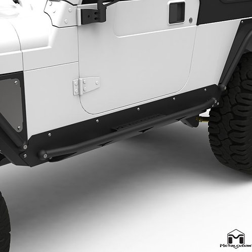 Metalcloak Rocker Rail Jeep Wrangler TJ Unlimited/LJ and CJ-8