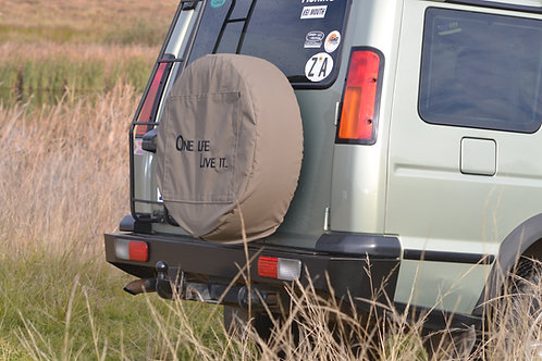 Rock 4x4 Rear Bumper - Land Rover Disco 2