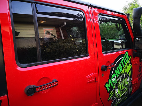 Window Monsoon bubble Jeep Wrangler JK 2dr & 4dr
