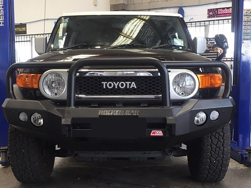 MCC Rocker 078-02 Triple Loop Winch Bar for Toyota FJ Cruiser