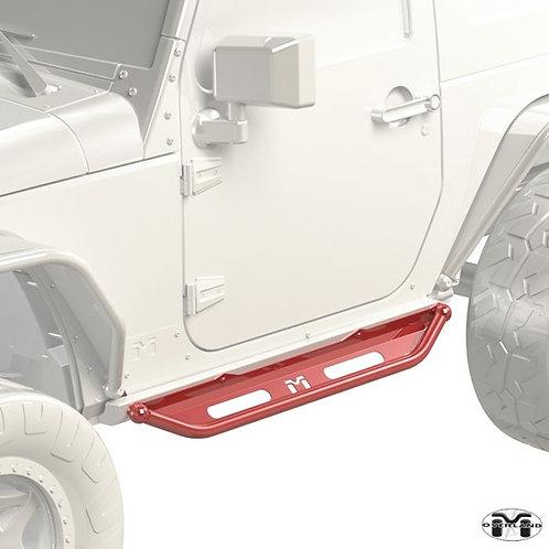 Metalcloak Overland Flip Step Jeep wrangler JK/JL 2-Door