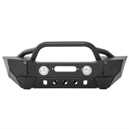XRC Gen2 Front Bumper Jeep Wrangler JK JKU W/Winch Plate - Black Textured