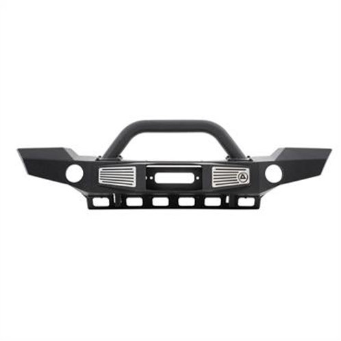 XRC Atlas Front Bumper Jeep Wrangler Jk JKU with Grill Guard and Fog Light Holes