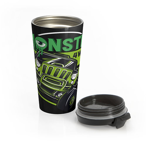 Monster 4wd Stainless Steel Travel Mug