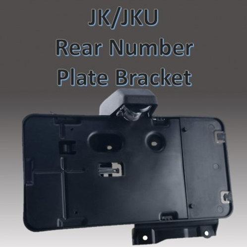 Rear Licence plate relocation bracket Jeep Wrangler JK JKU