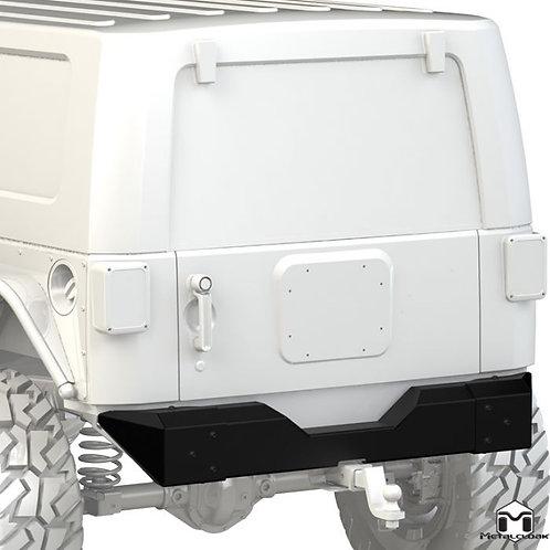 "Metalcloak Rear Bumper ""Crawler"" - Jeep Wrangler JK/JKU"