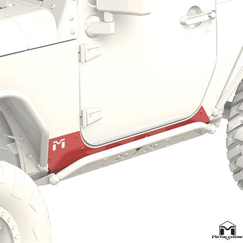 Metalcloak Rocker Exo Skin Jeep Wrangler JK 2-door