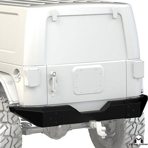 """Metalcloak Rear Bumper """"Full Width"""" - Jeep Wrangler JK/JKU"""