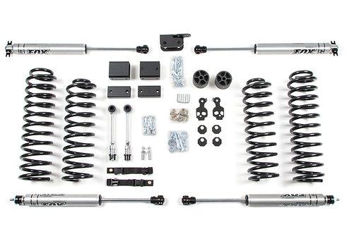"""3"""" Suspension Lift Kit - 07-11 Jeep Wrangler JK 2dr"""
