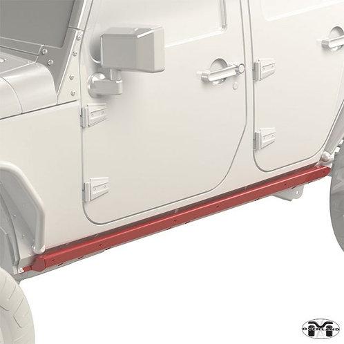 Metalcloak Overland & Hardline Rocker Base Jeep Wrangler JK 4-door