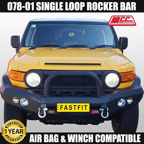 MCC Rocker 078-01 Single Loop Winch Bar for Toyota FJ Cruiser