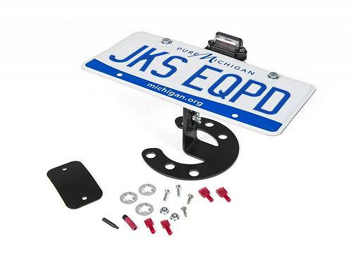 Spare Tire License Plate Mount Jeep JK / TJ / YJ