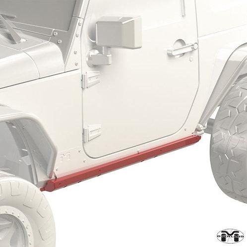 Metalcloak Overland & Hardline Rocker Base Jeep Wrangler JK 2-door