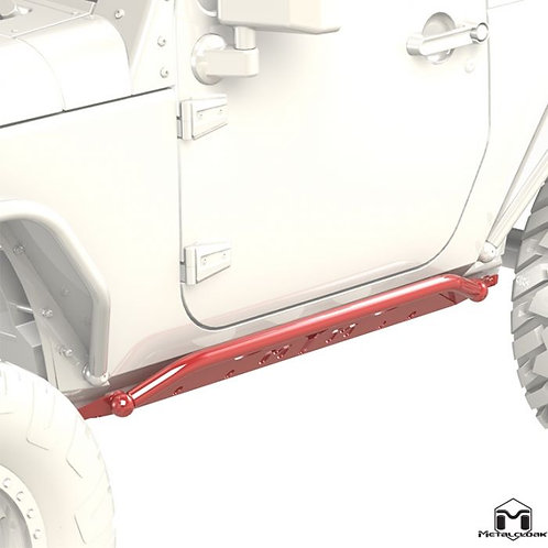 Metalcloak Rocker Rails Jeep Wrangler JK, 2-Door
