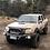 Thumbnail: MCC Rocker 078-01 Single Loop Winch Bar for Nissan Navara D22