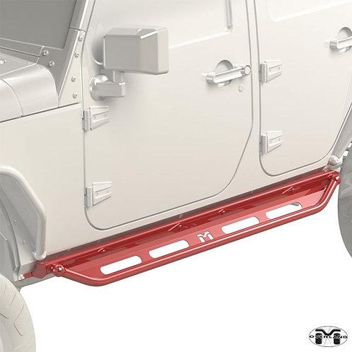 Metalcloak Overland Rocker & Flip Step Kit Jeep Wrangler JK 4-door