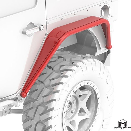 Overline Hi-Clearance Dovetailed & Removable Rear Flare, Standard Edition, Pair,