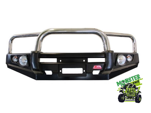 MCC Falcon 707-01 Triple Loop Winch Bar for Mitsubishi Pajero NP 2000 - 2005
