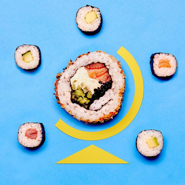 Happy International Sushi Day! If Earth really was one giant Ginza Roll... armageddon would be imminent. Om yom yom... 😋😋#yumaggedon