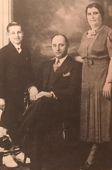 José C. Tavares e sua familia