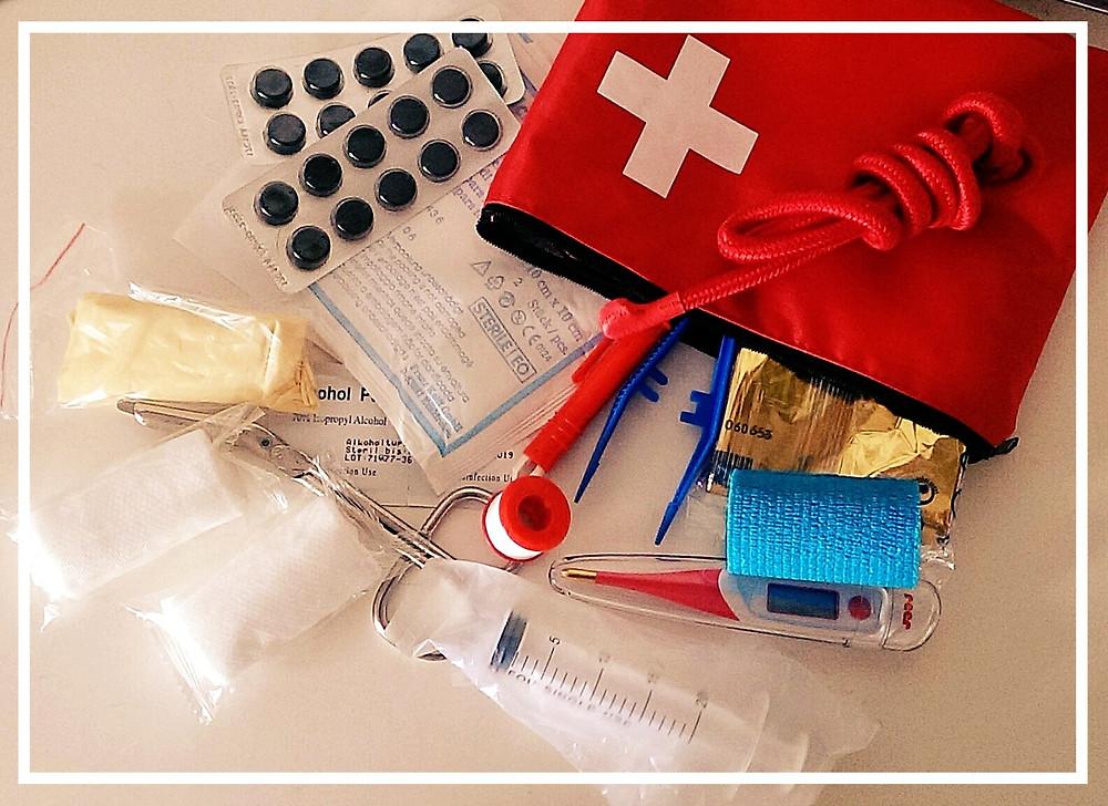 Bonnies Erste-Hilfe-Tasche