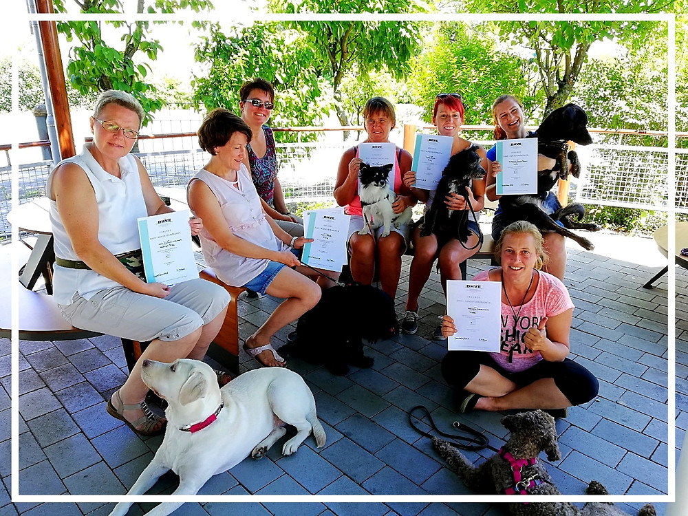 Hundeführerscheinprüfung bei der Hunde-Nachhilfe Mannheim