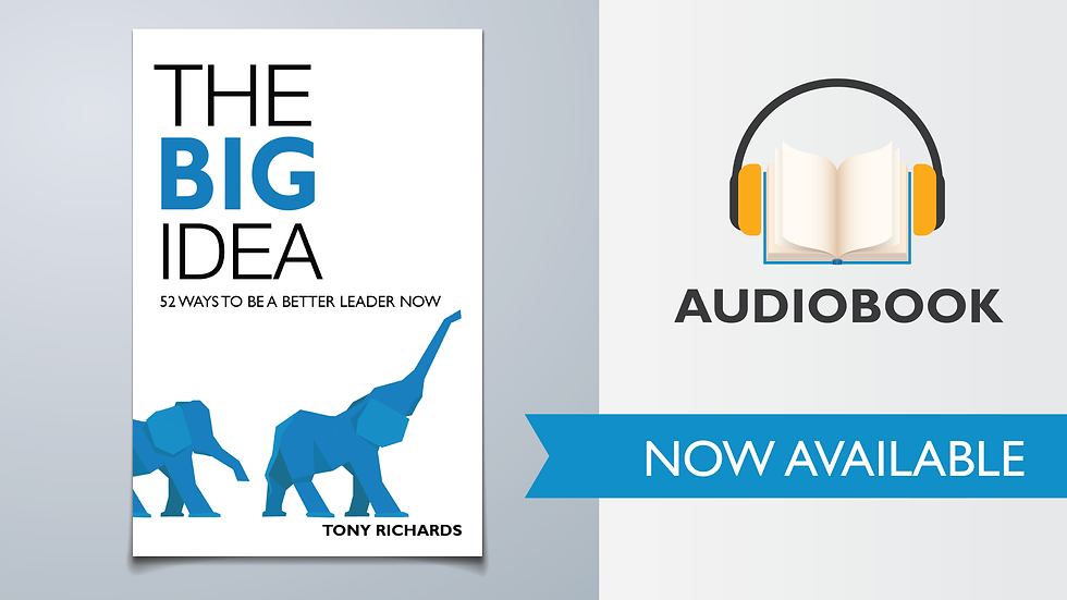 The Big Idea: 52 Ways To Be A Better Leader Now (Audiobook)