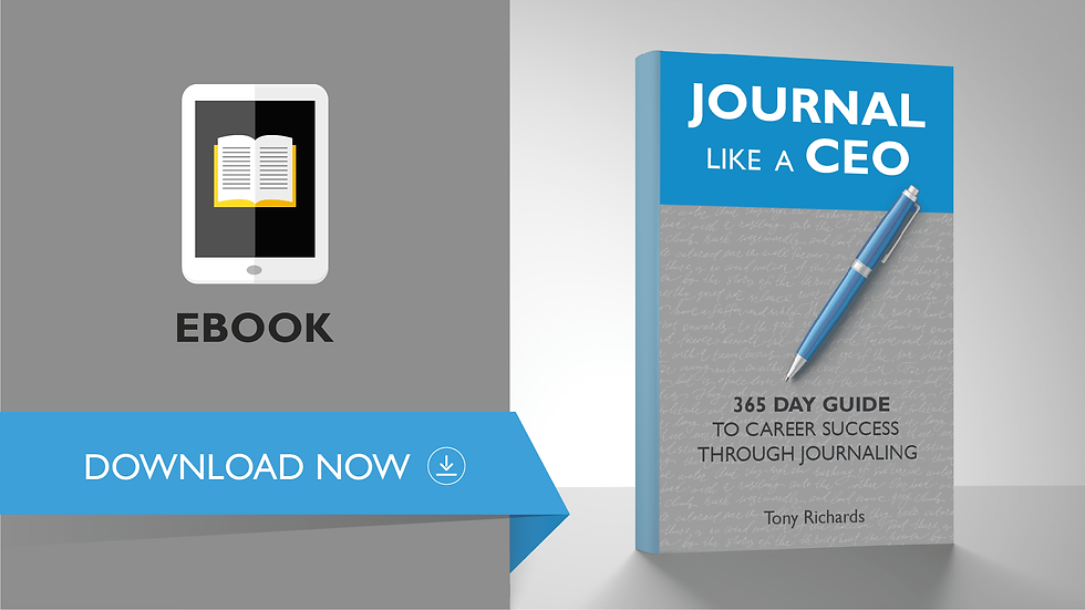 Journal Like A CEO (EBook)