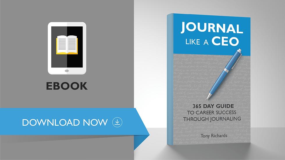 Journal Like A CEO (EBook)