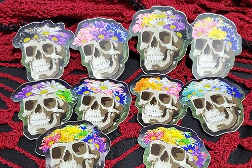 ALL the Pride Flower Crown Skulls