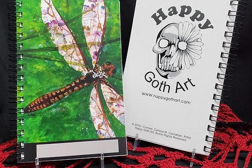 Dragonfly Rider - Notebook