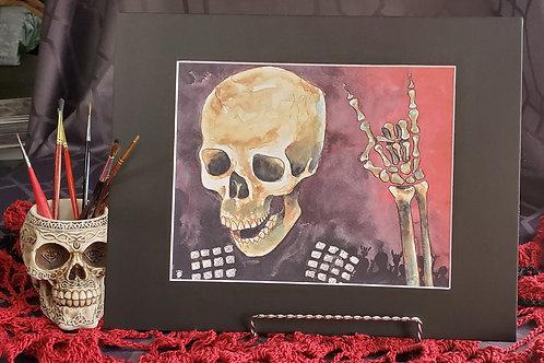 Metal Skull - Original