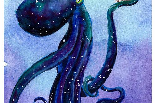 Octopus' Yorrick - Prints
