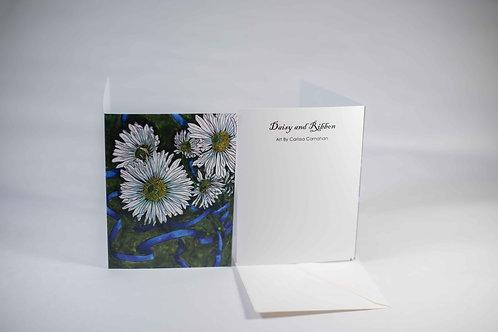 Daisy w/ Ribbon Card