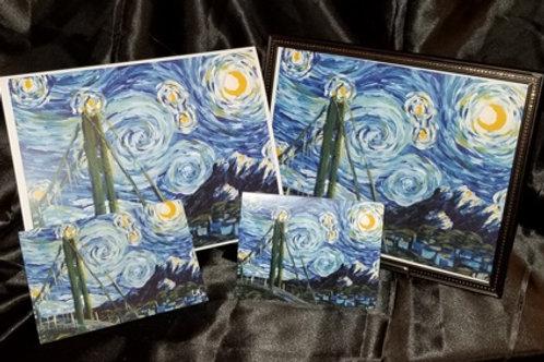 Starry Tacoma Night Prints
