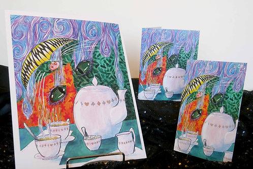 Cheshire Cat Print