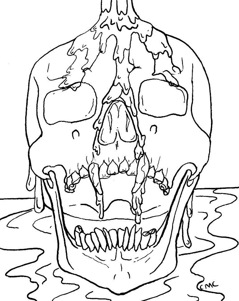 Skull_lines