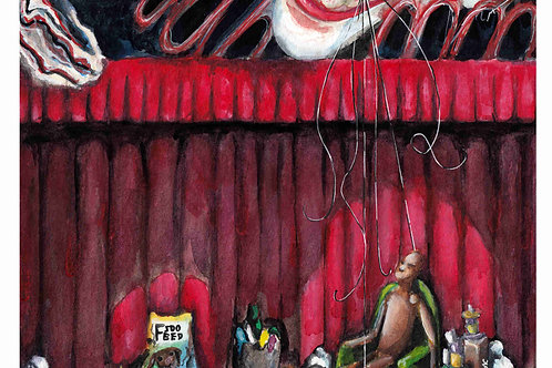 Mad Puppeteer - 8.5x14 inch Print