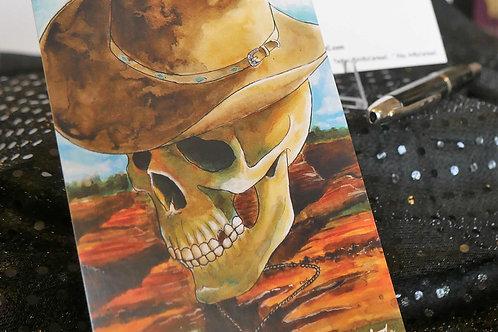 Country Music Skull - Postcard