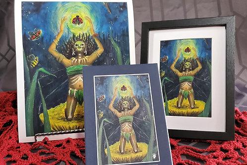 Voodoo Fairy Print